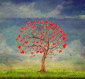 Tree of love — Stock Photo