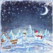 Merry Christmas and Happy new year background — Stock Photo #83726632