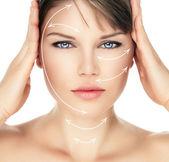 Skin care woman — Stock Photo