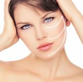Skin care woman — Stock Photo