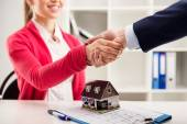 Real estate agency — Stock Photo