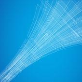 Abstract blue vector — Stock Vector