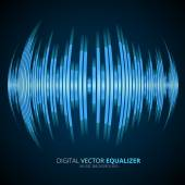 Graphic Equalizer Display — Stock Vector