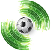 футбольный мяч — Cтоковый вектор