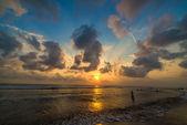 Kuta sunset — Stock Photo