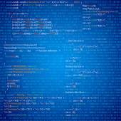 программный код — Cтоковый вектор
