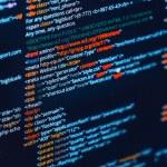 codice HTML — Foto Stock #73098831