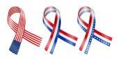 Flag Ribbon — Stock Vector