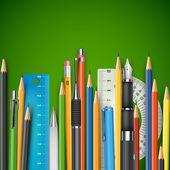 Kitle kalemler — Stok Vektör