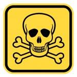 Danger skull — Stock Vector #78369514