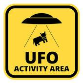 UFO ships — Stock Vector
