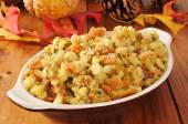 Holiday cornbread stuffing — Stock Photo
