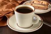 Café e biscoitos — Foto Stock