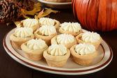 Pumpkin tarts — Stock Photo