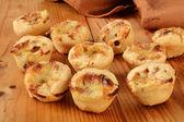 Mini chicken pot pies — Stock Photo