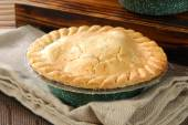 Fresh baked pot pie — Foto Stock