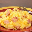 Ham and au gratin potatoes — Stock Photo #56953789
