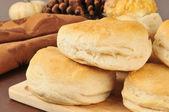 Fresh baked bicuits — Stock Photo