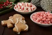 Bocadillos dulces de navidad — Foto de Stock