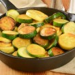 Stir fried squash — Stock Photo #58464113