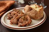 Pork  shoulder roast — Stock Photo