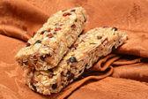 Chewy granola bars — Stock Photo