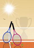 网球比赛 — 图库照片