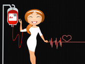 Blood donation — Stock Photo