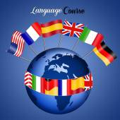Language corse — Stock Photo