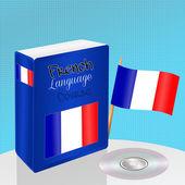Curso de lengua francesa — Foto de Stock