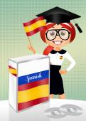 Spanish language course — Stock Photo