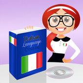 Italian course — Zdjęcie stockowe