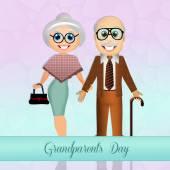 Dzień babci i dziadka — Zdjęcie stockowe