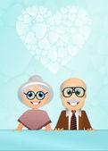 Grandparents Day — Stock Photo