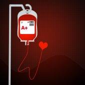 Blood bag — Stock Photo