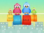 Seasonal sales — Stock Photo