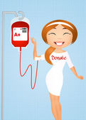 Blood donation — Stock Photo