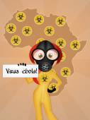 Virus ebola — Stock Photo