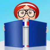 Fransızca kursu — Stok fotoğraf