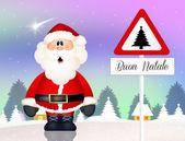 Kerstmis briefkaart — Stockfoto
