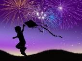 新年を祝う — ストック写真