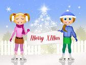 Vrolijk kerstmis — Stockfoto