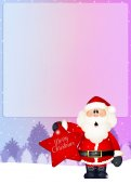 Christmas postcard — Stock Photo