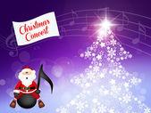 Concert of Christmas — Stock Photo