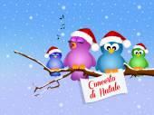 Concerto di Natale — Foto Stock