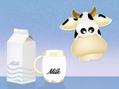 Milch — Stockfoto