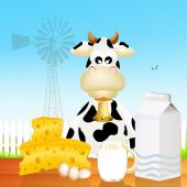 Fresh dairy — Stock Photo