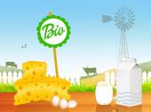 Dairy bio — Stock Photo