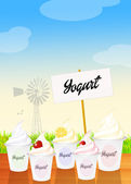 Yogurt — Stockfoto