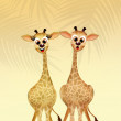 Giraffe couple — Stock Photo #59945737